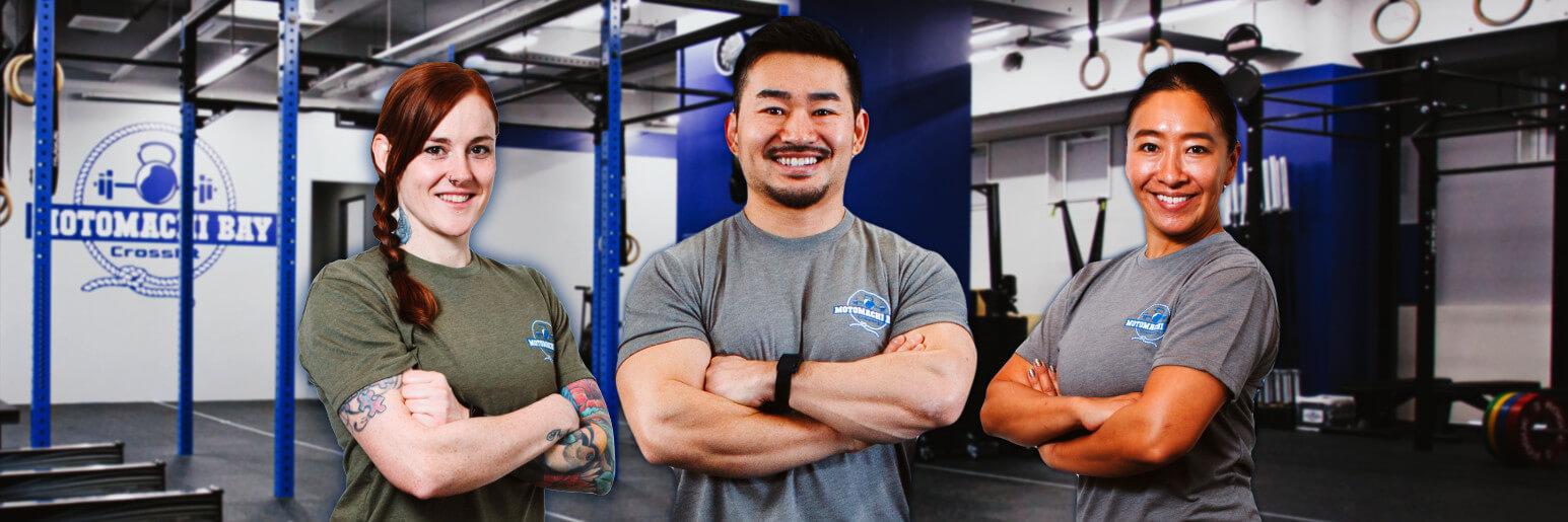 CrossFit Motomachi Bay Coaches